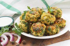 Buckwheat, Falafel, Vegetable Dishes, Lchf, Thanksgiving Recipes, Quinoa, Cauliflower, Zucchini, Vegan Recipes