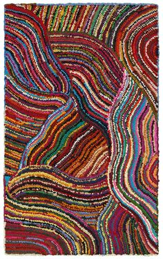 Products in LR Resources on Rug Studio - Lr Resources Layla Multi Area Rug - Rug Hooking Designs, Rug Hooking Patterns, Rug Patterns, Freeform Crochet, Crochet Art, Locker Hooking, Rug Studio, Latch Hook Rugs, Chenille