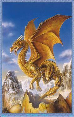 Dragon par Bob Eggleton