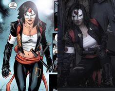 Katana! - Comic - 'Suicide Squad Most Wanted: Deadshot & Katana' #4 Movie - 'Suicide Squad'