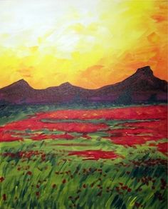 Red Fields - Lindsey Sniffin - Paint Nite