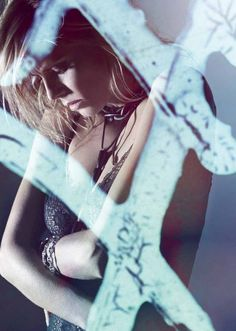 Electric Midnight | Heidi Klum | Rankin #photography | Hunger Magazine May 2012