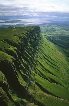 Benbulben mountain in County Sligo, Ireland