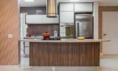 Resultado de imagem para cozinha em ilha apartamento pequeno