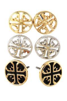 Tory Burch earring jewelry set cheap preppy classy $20