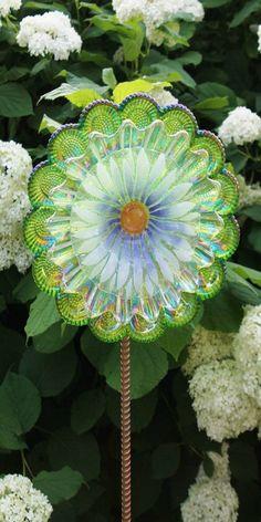 ~ glass garden ornament ~