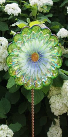 ~ glass garden ornament ~