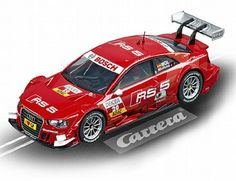 The Carrera Audi A5 DTM M.Molina NO.20 2013 Slot Car, is a superbly detailed Carrera Evolution race car for use on any 1/32 analogue slot car layout layout.