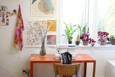helen dealtry's studio by wikstenmade, via Flickr