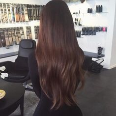Imagine hair, brunette, and beauty
