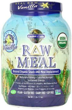 Garden of Life Raw Organic Meal, Vanilla, 2.5 lbs:Amazon:Health & Personal Care