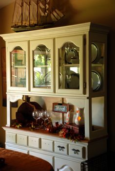 refinished china cabinet. | we did it. | pinterest | refinished