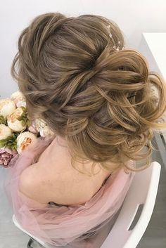 30 Most Outstanding Wedding Updos For Long Hair ❤ See more: http://www.weddingforward.com/wedding-updos-for-long-hair/ #wedding