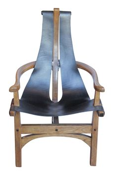 1920s Leather Sling Chair | Tim Clarke
