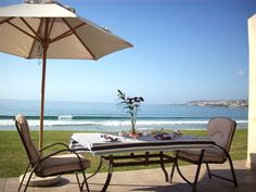 16 La Palma Villas - This fully equipped duplex house is located in a security complex which is right on the beach-front.  We are located right on the beach front of the Indian Ocean with direct access to the beautiful Diaz ... #weekendgetaways #mosselbay #southafrica