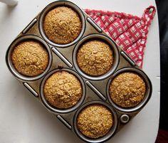 ginger millet muffins