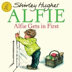 Alfie Gets in First by Shirley Hughes, http://www.amazon.com/dp/1862307830/ref=cm_sw_r_pi_dp_2WIHsb157M8WT
