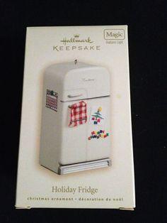 Hallmark Ornament 2007 Holiday Fridge Magic | eBay