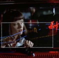 """Don't be a..."" - Mia. Pulp Fiction."