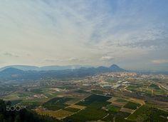 City of Xàtiva - La ciudad de Xàtiva vista desde la ermita del puig