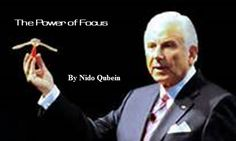 Great article by the great Nido Qubein. The Power of Focus! http://successnet.org/cms/success-principles/the-power-of-focus