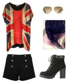 """""""Untitled #94"""" by clau2499 on Polyvore featuring moda, Paprika, Charlotte Russe y TOMS"""