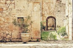 Abbazia di Pulsano,  Promontorio del Gargano Puglia Italy
