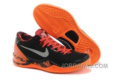 6bbf4d562297 Discounts Nike Kobe 8 PP Black Blaze Orange Grey Kobe 9 Shoes