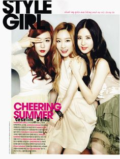 TaeTiSeo's Styles. Look at their hair style and fashion. I love Seohyun's style there. I don't know, but they are sweet at all!