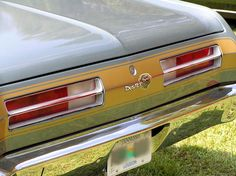 My 4th Car 1972 Plymouth Duster Had An Inline 6 With