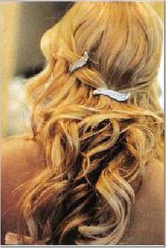 wedding hair !