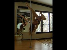 Thinking Out Loud - Pole Dance Freestyle - YouTube