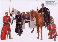 Knight and sergeant uniforms, 12th/13th c.