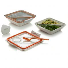 Black   Blum Box Appetit, White/Orange