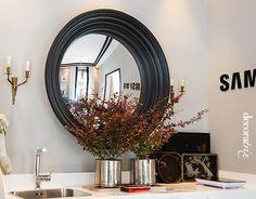 Tendencias Casa Decor 2014: espejos redondos en el espacio de Raúl Martins