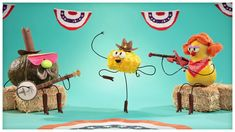 "Veggie Boogie: ""Square Dancin' Squash,"" by StoryBots"