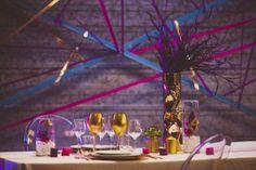 décoration mariage rock, décoration mariage paillettes, la mariée en colère, robe de mariée, rock, mariage mariage rock, wedding rock glitter gold doré