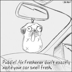 Puddin' Air Freshener don't exactly make your car... | Puddin' Don't