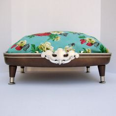 Suitcase Pet Bed from Vintage 70s Suitcase Top  by Spaghetteria, $75.00