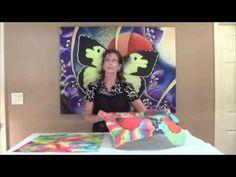 "Introduction and overview video for ""MySilkArt eBook 1: Silk Painting Basics for Beginners"", Pamela Glose, www.MySilkArt.com"