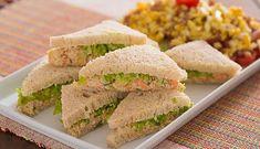 Sanduíche de frango - Na Mira