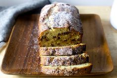 cannoli pound cake - smitten kitchen - yum! made with sour cream that needed to be used up instead of the ricotta