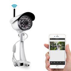 Funlux® Easy iPhone Mobile View Setup 1 Megapixel 720P HD Indoor/ Outdoor Wire