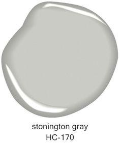 #BenjaminMoore Stonington Gray HC-170