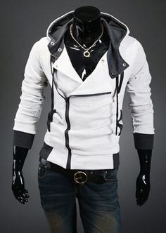 Guys get all the cool clothes. Men's Assassin's Creed Style Hoodie | Deal Man