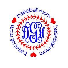 Personalized Baseball Moms Shirts by BurlapandLaceSC1 on Etsy
