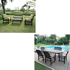Delahey 10-Piece Value Bundle, Dining and Conversation Set - $639 for both!