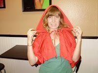 No Sew Costume: Little Red Riding Hood and Big Bad Wolf - A Simple Nest