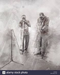 musicians (African #musicians playing the African horn #trumpet)    #music #musicalinstruments #people #men #band #entertainment #artists #anthromahe #photography #photographs #photos #images #iphoneography #mobile #photography #art #artistic #artwork #paint #painting #illustration #stockphotography #stockphoto #stockimages