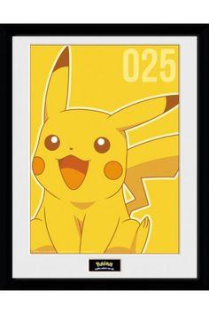 Pokemon Pikachu Mono Collector Print Nintendo Store, Pokemon Poster, Gaming  Merch, Pikachu, 618b6f8494b
